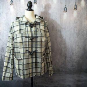 Multicolored Old Navy Pea coat Size Medium